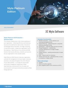 Featured Image for Nlyte DCIM Platinum Edition Solution