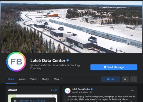 Luleå Data Center